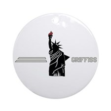 Griffiss AFB Ornament (Round)