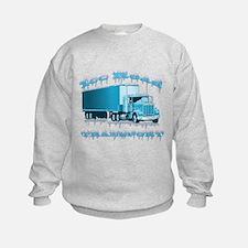 Unique 18 wheelers Sweatshirt