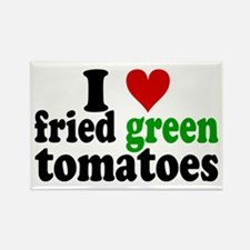 I Heart Fried Green Tomatoes Rectangle Magnet