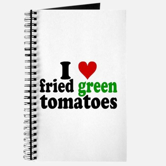 I Heart Fried Green Tomatoes Journal