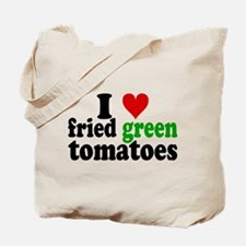 I Heart Fried Green Tomatoes Tote Bag