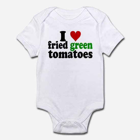 I Heart Fried Green Tomatoes Infant Bodysuit