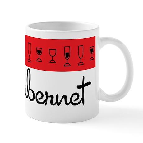 I Love Cabernet Mug