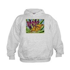 Butterfly with Iris Hoodie