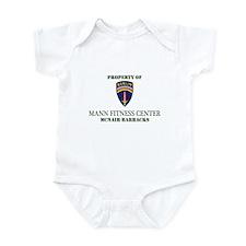 BBDE Mann Fitness Ctr Infant Bodysuit