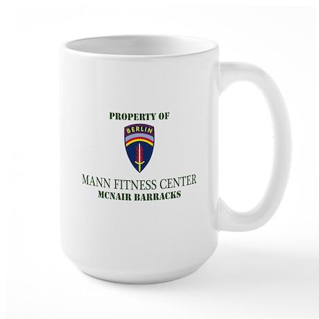 BBDE Mann Fitness Ctr Large Mug