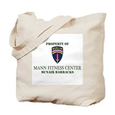 BBDE Mann Fitness Ctr Tote Bag