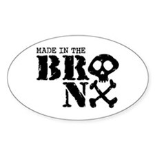Made In The Bronx Decal