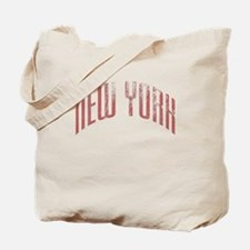 New York Grunge Tote Bag