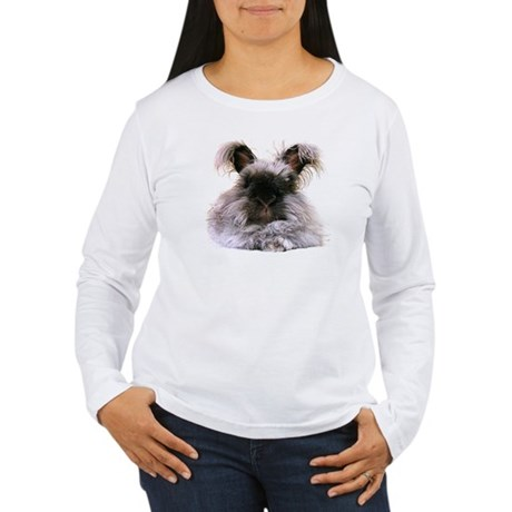 Peaceful fur wearing Hello Bunny Women's TEE