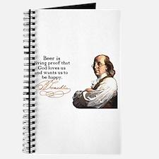 Franklin on Beer Journal