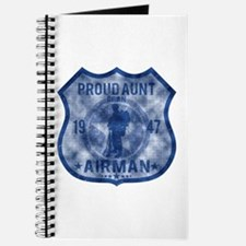Proud Aunt - Airman Badge Journal