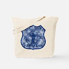 Proud Aunt - Airman Badge Tote Bag