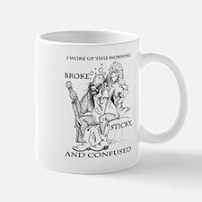 Broke Sticky, and Confused Mug