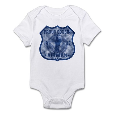 Proud Cousin - Airman Badge Infant Bodysuit