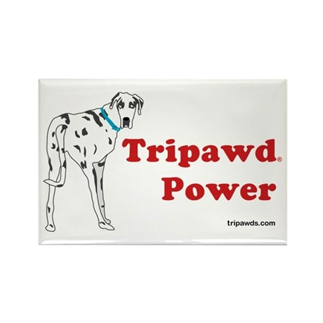 Tripawd Power Rectangle Magnet (10 pack)