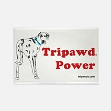 Tripawd Power Rectangle Magnet