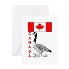 Canadian Friends- Greeting Card