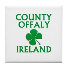 Cute County offaly Tile Coaster