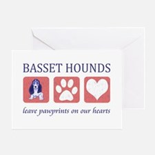 Basset Hound Lover Gifts Greeting Card