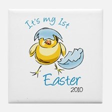 It's My First Easter '10 Tile Coaster