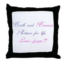 BoothBrennan4Life Throw Pillow
