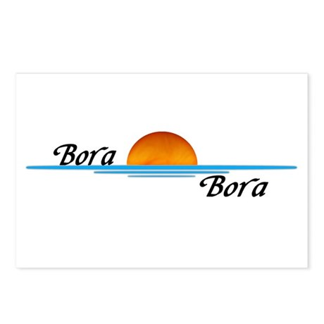 Bora Bora Sunset Postcards (Package of 8)