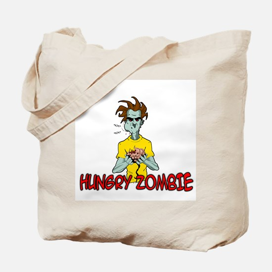 Hungry Zombie Tote Bag