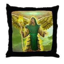 Archangel Raphael Throw Pillow