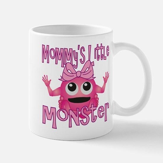 Girl Mommy's Little Monster Mug
