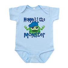Boy Mommy's Little Monster Infant Bodysuit