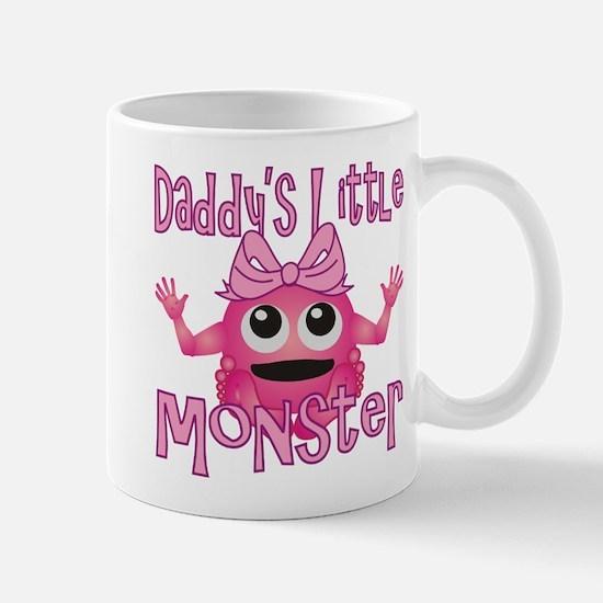 Girl Daddy's Little Monster Mug
