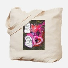 When the Heart Weeps....The S Tote Bag