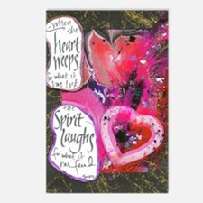 When the Heart Weeps....The S Postcards (Package o