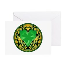 Lucky Charm Cameo Greeting Cards (Pk of 20)