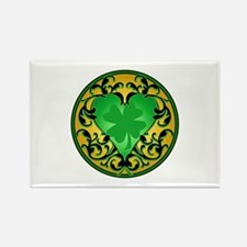Lucky Charm Cameo Rectangle Magnet