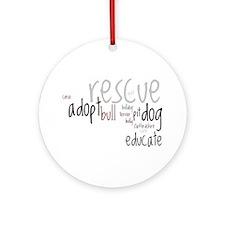 Rescue Ornament (Round)