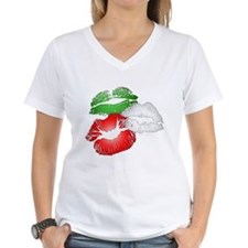 Italian Kissing Lips Shirt
