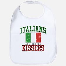 Italians Are Better Kissers Bib