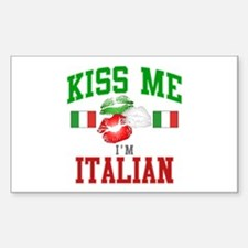 Kiss Me I'm Italian Decal