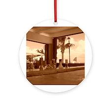 Beach Bar Ornament (Round)