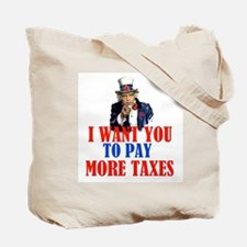 TAX AND SPEND SAMBO Tote Bag