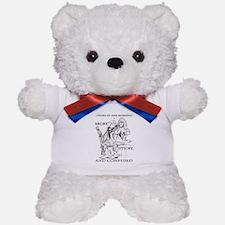 broke sticky & confused Teddy Bear