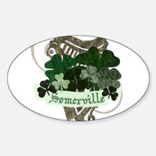 Somerville Irish Decal