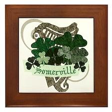 Somerville Irish Framed Tile