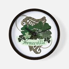 Somerville Irish Wall Clock