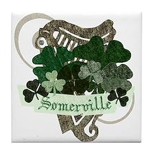 Somerville Irish Tile Coaster