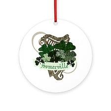 Somerville Irish Ornament (Round)