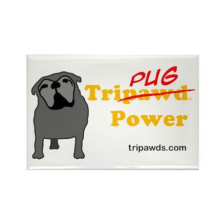 Tri-Pug Power Rectangle Magnet