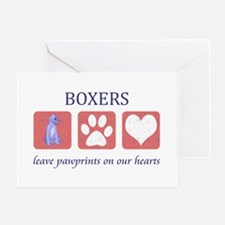 Boxer Lover Gifts Greeting Card